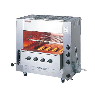 ガス 赤外線 同時両面焼グリラー 「ニュー武蔵」 (中型) SGR-N65 LPガス( キッチンブランチ )