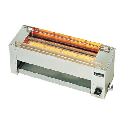 リンナイ串焼 61号 RGK-61D LPガス 607×183×H216mm( キッチンブランチ )