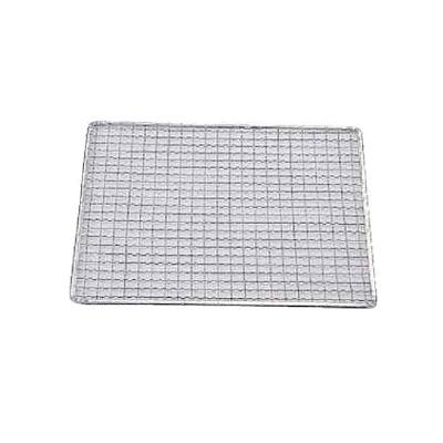 亜鉛引 使い捨て網正角型(200枚入) S-14 270×270mm( キッチンブランチ )