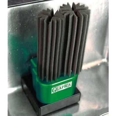 回転スポンジ式グラスウォッシャー グラピカ 置き型 GLA-A( キッチンブランチ )