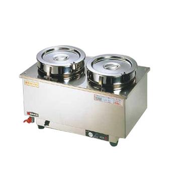 電気ウォーマー ES-4W型 (ヨコ型) 550×320×H285mm【 受注生産品の為 約2週間程かかります 】 ( キッチンブランチ )