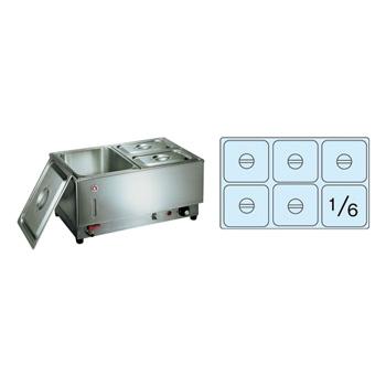 電気フードウォーマー 1/1ヨコ型 KU-106Y 570×365×H270mm( キッチンブランチ )