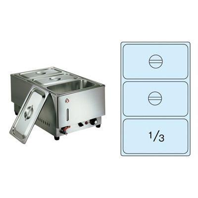 電気フードウォーマー 1/1タテ型 KU-203T 365×570×H270mm( キッチンブランチ )