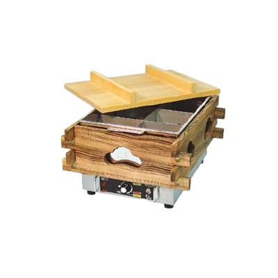 エイシン 電気おでん鍋 6ッ切 CVS-6S 370×470×H279mm( キッチンブランチ )