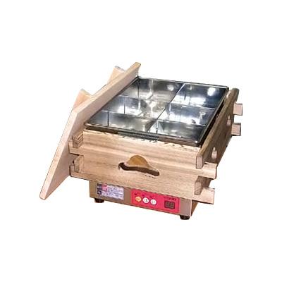 エイシン マイコン電気おでん鍋 6ッ切 CVS-6D 370×470×H279mm( キッチンブランチ )