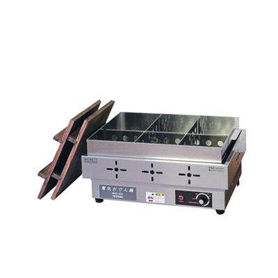ニッセイ 電気おでん鍋 NHO-6SY 本体寸法:485×335×H230mm( キッチンブランチ )