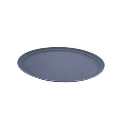 キャンブロ 小判型 ノンスリップトレー 2900CT-BL <ブラック>( キッチンブランチ )
