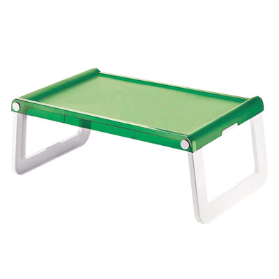 グッチーニ フォールディングマルチトレー 0894.0044 580×350×H235mm <グリーン>( キッチンブランチ )