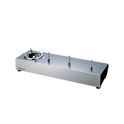 サイフォン ガステーブル US-301 LPガス 600×200×H95mm( キッチンブランチ )