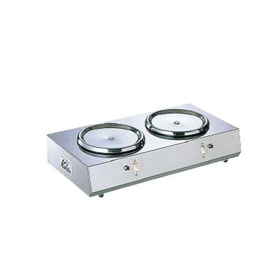 2 連ウォーマー 380×210×H85mm( 380×210×H85mm( ) キッチンブランチ 2 ), シンアサヒチョウ:13963777 --- officewill.xsrv.jp
