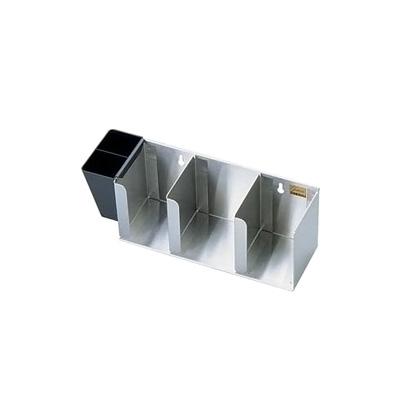 18-8 リッドディスペンサー 3Pcs L1014 362×133×H165mm( キッチンブランチ )