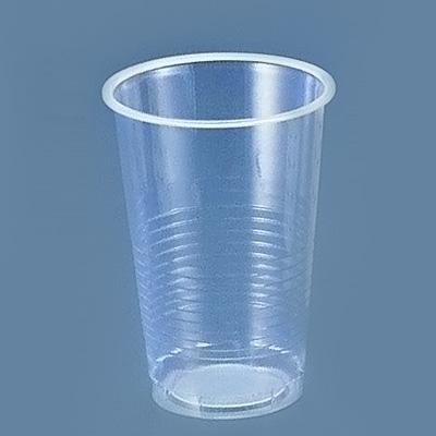 プラスチックカップ(透明) 18 オンス (500個入) 535cc( キッチンブランチ )