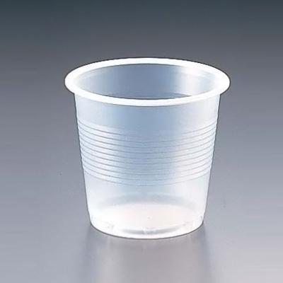 プラスチックカップ(半透明) 5 オンス(2500個入) 160cc( キッチンブランチ )