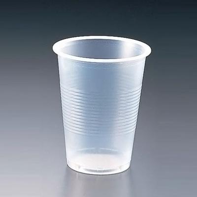 プラスチックカップ(半透明) 6 オンス(3000個入) 170cc( キッチンブランチ )