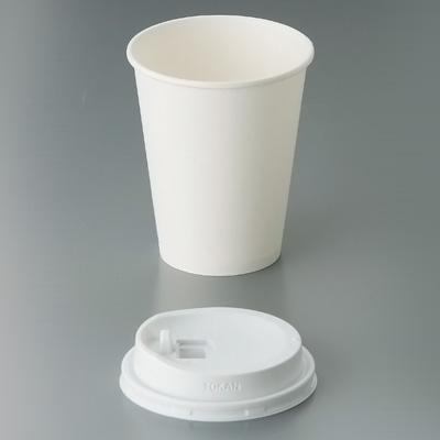 紙カップ 白無地(1000枚入) SMT-280 φ79×H94mm( キッチンブランチ )