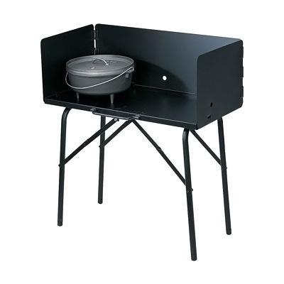 ロッジ クッキングテーブル A5-7 810×410×H900mm(風防高さ305)( キッチンブランチ )