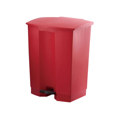 トラスト ステップオンコンテナ 1253 413×400×H600mm <レッド>( キッチンブランチ )