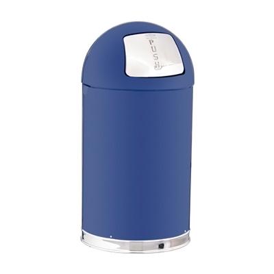 トラスト ラウンドトップ ダストボックス 2353 45L 381×H760mm <ブルー>( キッチンブランチ )