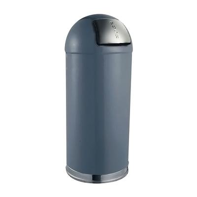 トラスト ラウンドトップ ダストボックス 2353 45L 381×H760mm <グレー>( キッチンブランチ )