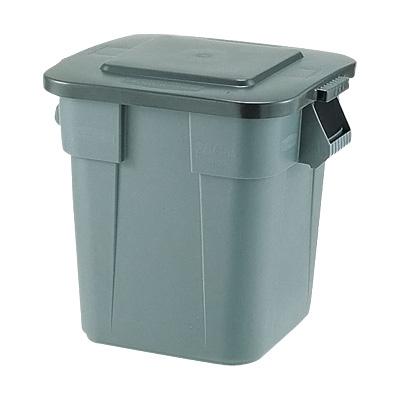 スクエア・ブルートコンテナ No.3536 597×597×H730mm <グレー>( キッチンブランチ ) [フタ別売り] ごみばこ ごみ箱