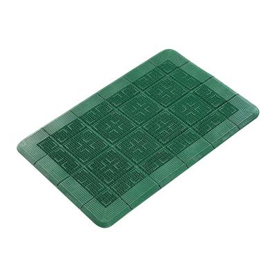 クロスハードマット 900×1500mm <緑>( キッチンブランチ )