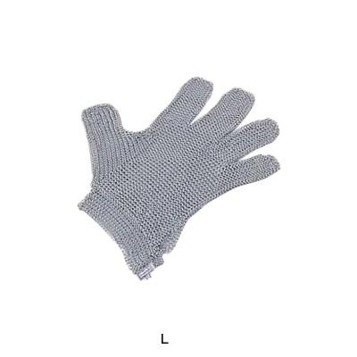 ニロフレックス 2000メッシュ手袋 5本指(片手)(オールステンレス) L L5-NV(3)( キッチンブランチ )