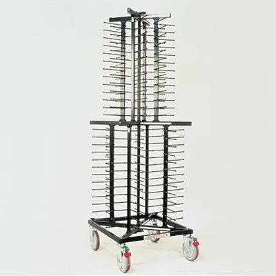 プレートディスペンサー(移動式) ジャックスタック JS104 600×600×H1790mm( キッチンブランチ )