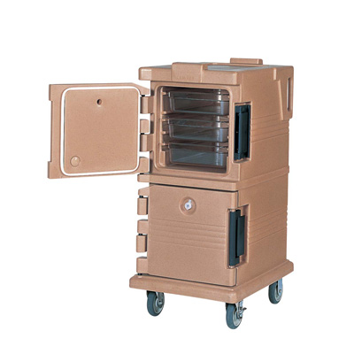 キャンブロ カムカート フードパン用 UPC600 520×690×H1120mm <コーヒーベージュ>( キッチンブランチ )