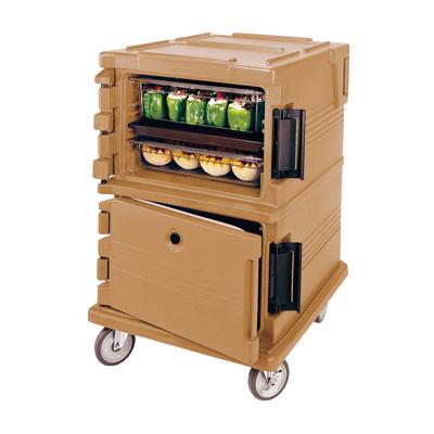 キャンブロ カムカート フードパン(フルサイズ)用 UPC1200 725×820×1160mm <コーヒーベージュ>( キッチンブランチ )