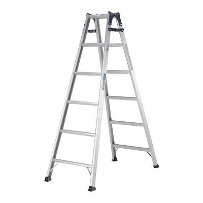 はしご兼用脚立 PRS-W型 PRS-120W 全長2.37m( キッチンブランチ )