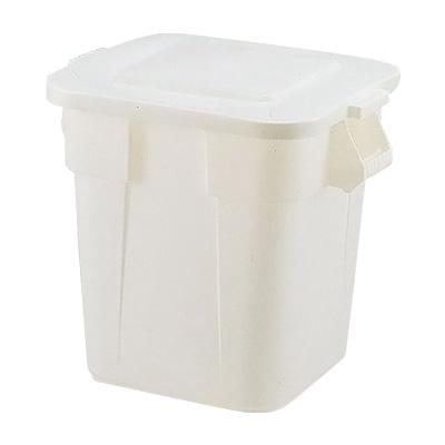 スクエア・ブルートコンテナ No.3526 546×546×H572mm <ホワイト>( キッチンブランチ ) [フタ別売り] ごみばこ ごみ箱