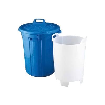 生ゴミ水切容器 GK-60 (中容器付)φ490×H665mm( キッチンブランチ )