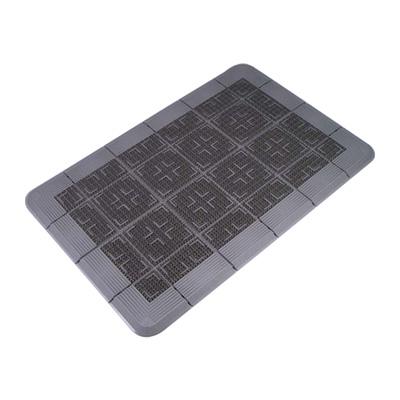 クロスハードマット 900×1500mm <グレー>( キッチンブランチ )