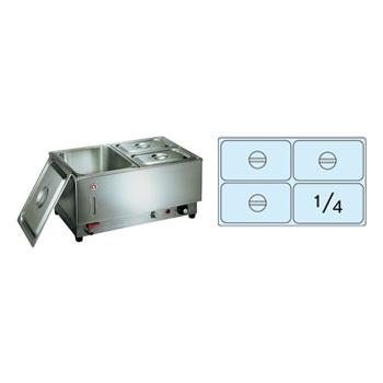 電気フードウォーマー 1/1ヨコ型 KU-104Y 570×365×H270mm( キッチンブランチ )