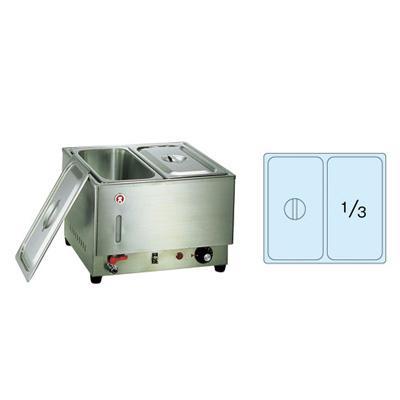 電気フードウォーマー 2/3型 KU-302 395×365×H270mm( キッチンブランチ )
