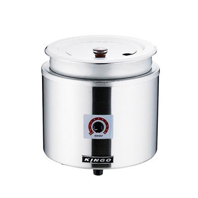 KINGO 湯煎式電気スープジャー 11L D9001 φ320×H335mm( キッチンブランチ )