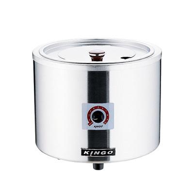KINGO 湯煎式電気スープジャー D9001(中鍋なし) φ320×H280mm( キッチンブランチ )