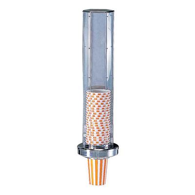 TKG カップディスペンサー 壁掛けタイプ φ158×H550mm                        ( キッチンブランチ )