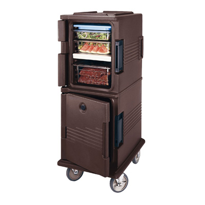 キャンブロ フードパン用 カムカート UPC800 520×690×H1375mm <ダークブラウン>( キッチンブランチ )