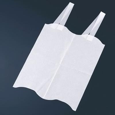 使い捨て エルフエプロン 4折紙タイプ 1箱(2000枚入) 300×350mm( キッチンブランチ )