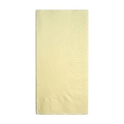 カラーナプキン 8ッ折 45cm 2ply(2000枚入) 450×450mm <クリーム>( キッチンブランチ )
