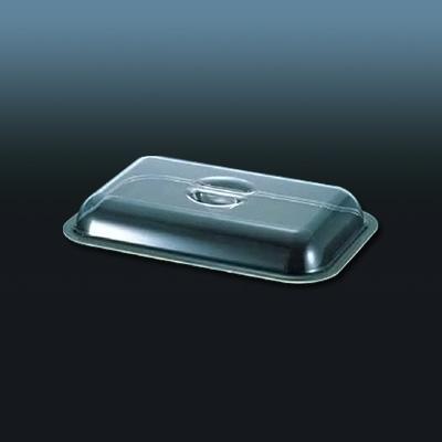 UK ポリカ製角チェーフィング用カバー 22インチ用 540×335×H65mm( キッチンブランチ )