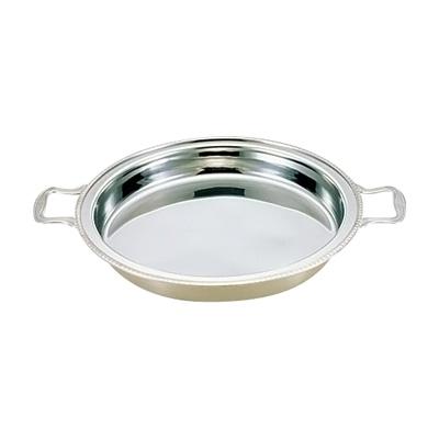 UK 18-8 ユニット丸湯煎用 フードパン 深型 14インチ( キッチンブランチ )