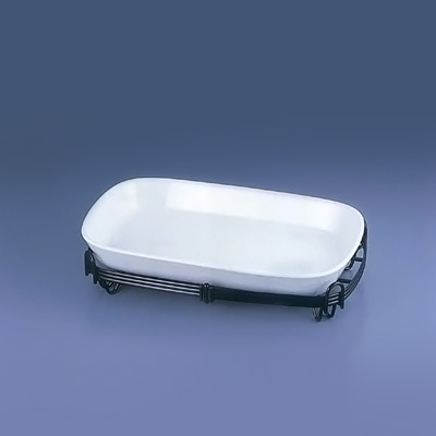 TKG角バルドスタンドセット 39-1011-39W 388×250×H93mm<白>( キッチンブランチ )