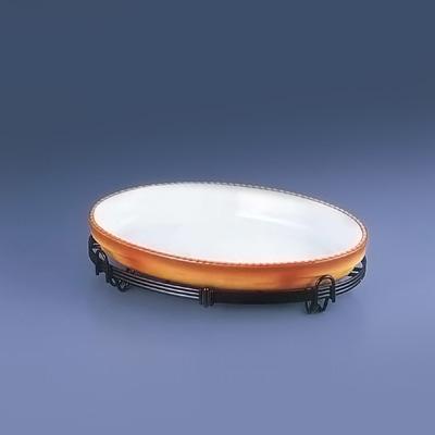 TKG小判バルドスタンドセット 40-3011-40B 395×245×H100mm <茶>( キッチンブランチ )