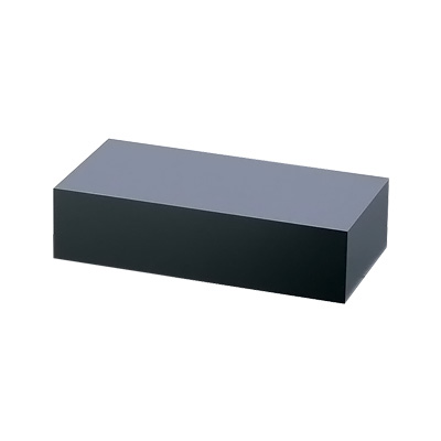 アクリル ディスプレイ BOX 中 B30-9 400×200×H100mm <黒マット>( キッチンブランチ )