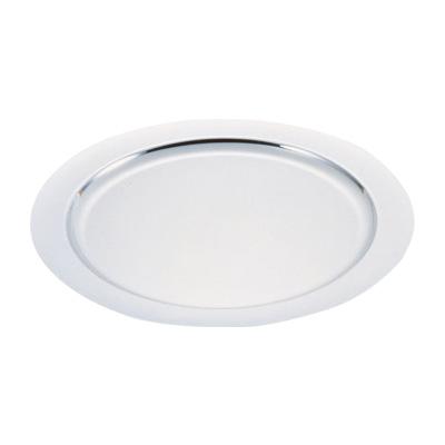 ☆最安値に挑戦 UK 期間限定今なら送料無料 18-8 プレーンタイプ丸皿 キッチンブランチ 22インチ