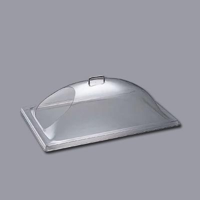 キャンブロ 角ドームカバー ワンエンドカット DD1220ECW 550×355×H200mm( キッチンブランチ )