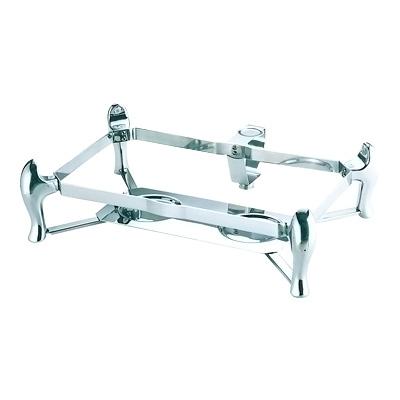 KINGO 角チェーフィング用スタンド デラックスタイプ C60 (フルサイズD104用) 555×410×H150mm( キッチンブランチ )
