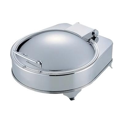 KINGO ステンレス 電気丸チェーフィングデッシュ D201G 425×470×H237mm( キッチンブランチ )